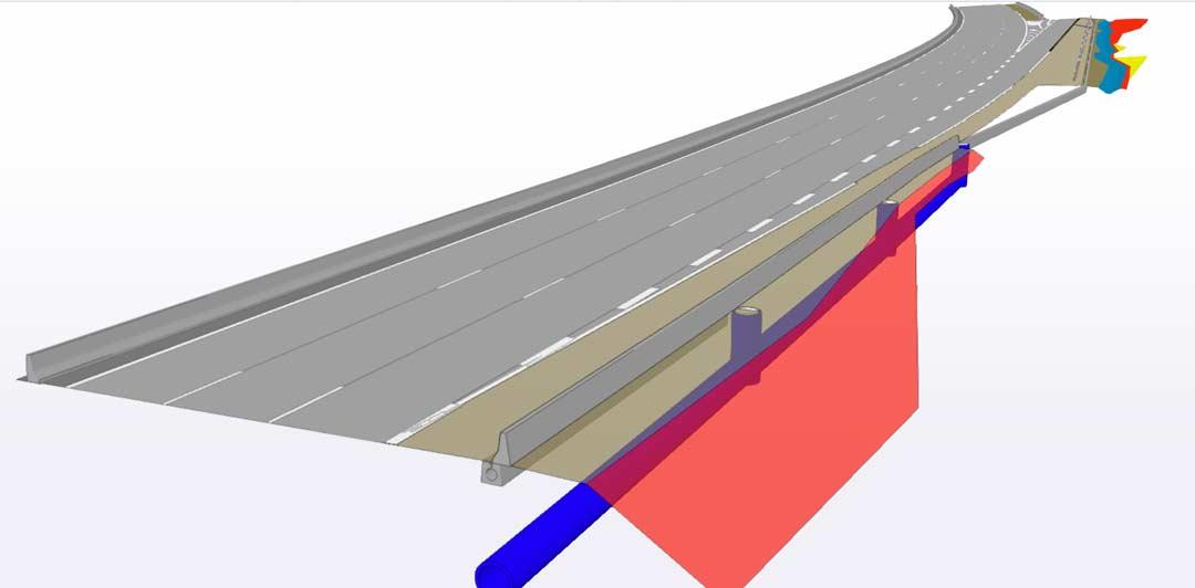 Bim Construct 3D Autoroute A61