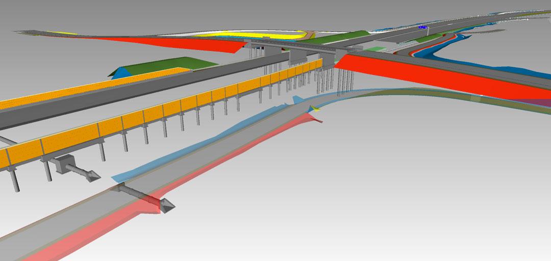 Bim Construct 3D Autoroute A63