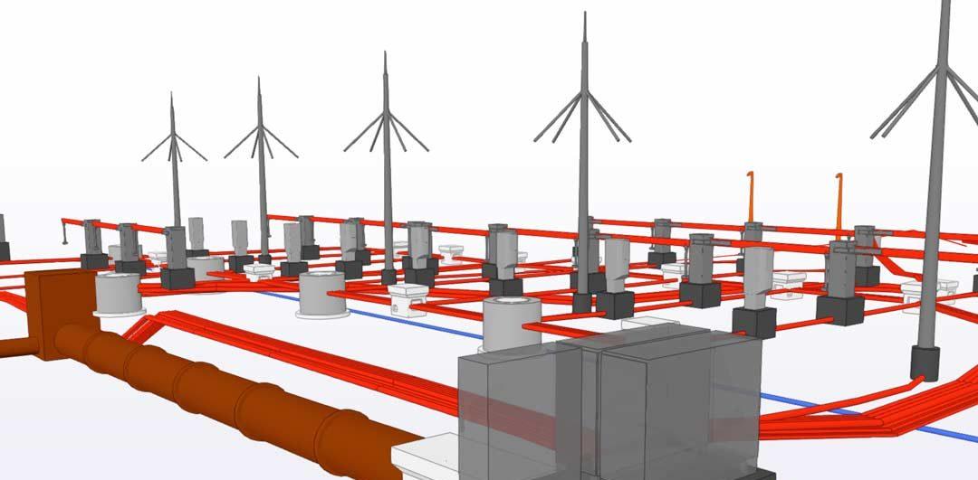Bim Construct 3D AMP réseaux