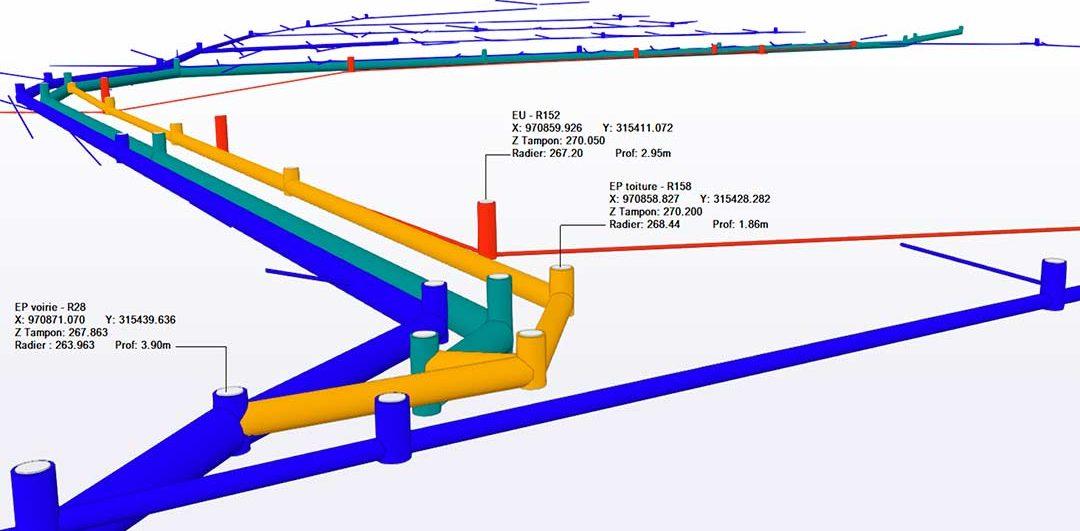 Bim Construct 3D réseaux